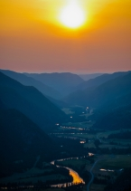 Samilkameen Sunset, Preserved Light Photography